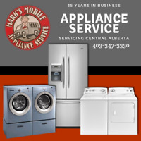 Appliance Services in Central Alberta