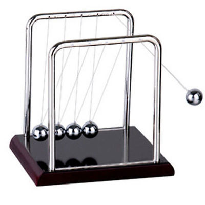Newton Cradle Steel Balance Ball Physics Science Pendulum Gifts Toys Desk Decor