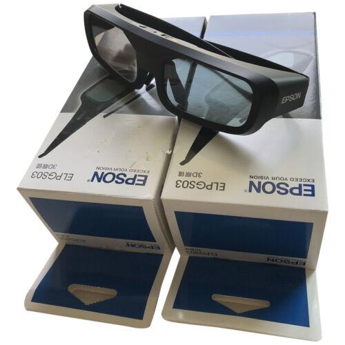 Genuine Epson ELPGS03 RF 3D Glasses for 2000 2030 3020e 5020UBe 5030UBe US