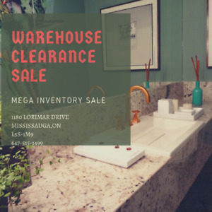 BATHROOM WAREHOUSE MEGA SALE !!! GTA