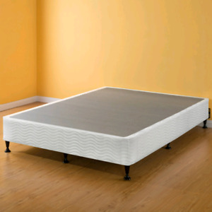 Queen Size Box Spring And Metal Frame