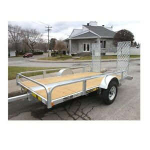 "Maxi roule 10'3"" x  5'3"" galvanized trailer for sale or trade"