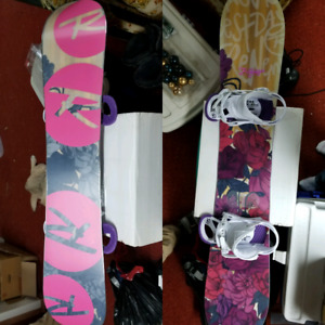 Rossi Frenemy board with boots and bindings