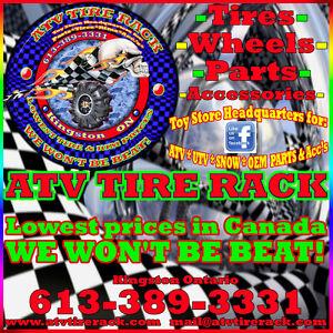 Can-am Maverick RHINO BRAND HD AXLE Canada ATV TIRE RACK Kingston Kingston Area image 2