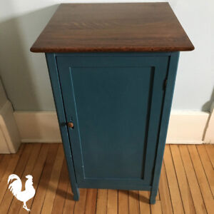 Updated Vintage Record Cabinet