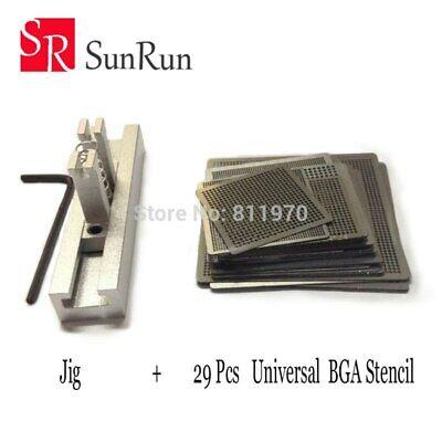 29pcs Universal Direct Heating Bga Kit Soldering Repair Rework Chip For Jig