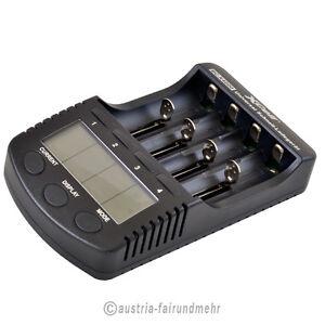 034-AKKU-Schnell-Ladegeraet-BC-X4000-NiMh-Li-ion-XCell-mit-LCD-Display