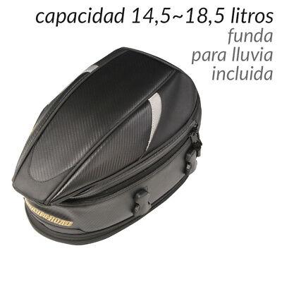 Bolsa de Asiento Colin para Moto Universal Carretera Racing Touring Equipaje
