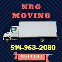 Déménagement / Moving  a partir de 35$ / 514-963-2080