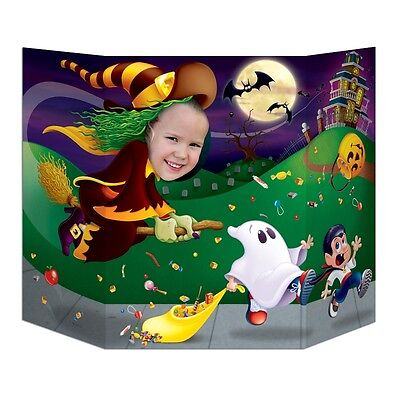 Halloween Witch Photo Prop - 94 cm - Spooky Party Decorations Witches Broomstick - Photo Halloween 94