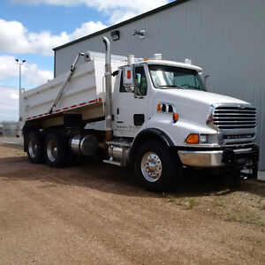 2008 STERLING DUMP TRUCK AUTOMATIC ALLISON