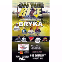 ON THE RISE  BRYKA LIVE IN CONCERT FROM JAMAICA