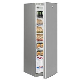 Commercial INTERLEVIN ARR350 12.3 CUFT SINGLE SOLID DOOR UPRIGHT FRIDGE CHILLER GREY