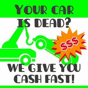 YOUR CAR IS DEAD? – WE WILL BUY IT! UP TO 1000$ CASH!