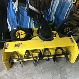 John Deere 44 in. Snow Blower Attachment for 100 Series Tractors