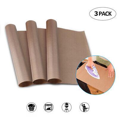 3 Pack Teflon Sheet 16x24 Heat Press Transfer Art Craft Supply Sewing Tool Add