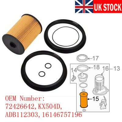 For BMW MINI R50 R52 R53 01-06 ONE COOPER S FUEL FILTER 16146757196 72426642 fo