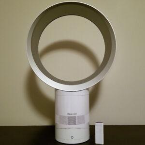 """Dyson 12"""" Desk Fan (AM06-12) - White/Silver"""
