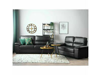 ,, New real leather 3+2 seater sofas £559