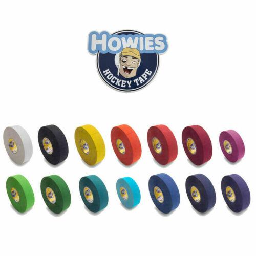 Howies Hockey Premium Cloth Stick Tape Hockey Black, White, USA, Green, Pink Red