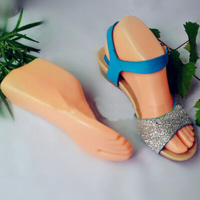 Shoes For Adults (1 Pair Hard Plastic Adult Feet Mannequin Foot Model Tools for Shoes)