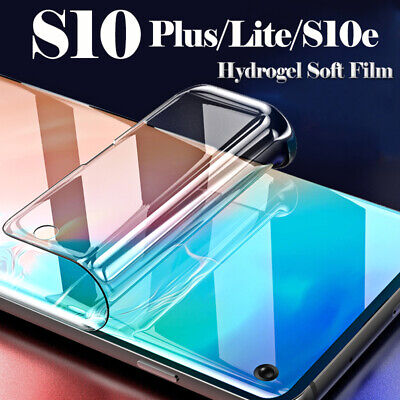 Full Screen Protector Display Schutzfolie Film Für Samsung Galaxy S10e S9 S8Plus