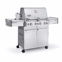 Brand New Weber Summit S-470 Propane Grill - Save $900!!