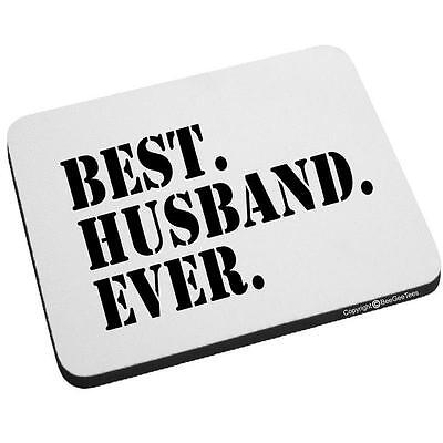 Beegeetees Best Husband Ever Mouse Pad BESTHUSBANDEVERStencil-MP