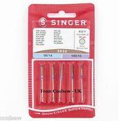 Singer Sewing Machine Needles Domestic - Standard, Ballpoint, Overlock, Quiltin