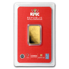 10 gram Gold Bar - Republic Metals Corporation (In Assay)