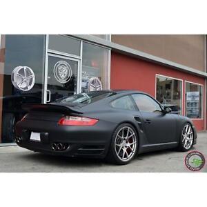 """$1399 (Tax-In) - NEW 19"""" RoadForce RF-009 rims (5x112/5x130)- PORSCHE 911/ Boxster/ Cayman/ Panamera/ Audi R8/ GALLARDO"""