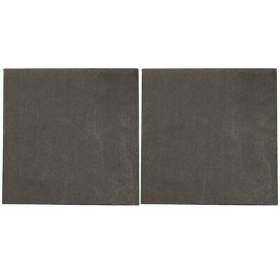 2pcs High Pure Carbon Graphite Sheet 100×100×2mm Electrode Plate Anode Panel DIY