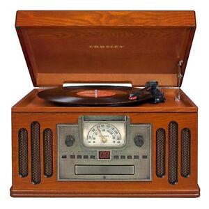 Crosley CR704C-PA Musician Turntable with Radio