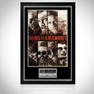 RARE-T Exclusive SONS OF ANARCHY 'FACE' HANDSIGNED POSTER