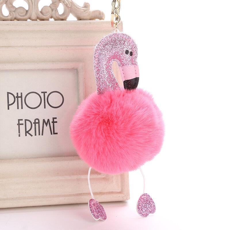Schlüsselanhänger Flamingo Rosa Pink Rosaflamingo Schlüsselring Süß Farbwahl