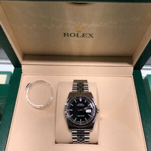 Rolex Datejust 36mm, Black Dial