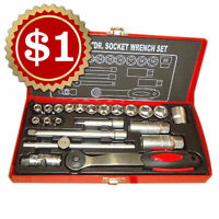 ★$1 FlashSale★Socket Wrench Set★Reg Price: $57.18★Final Price:$1