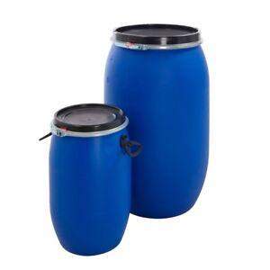 Small open top plastic barrel/drum
