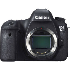 Canon 6D with 16-35, 50 and 55-200 Lenses