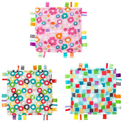 Bright Starts Little Taggies Baby Comforters - 3