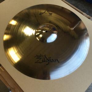 Zildjian and Sabian Paragon Cymbals and Hi Hats, Ride, Crash