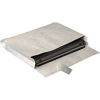 Quill Tyvek Quickstrip Open Side Booklet Envelopes - 10 X 15 X 2 100 Per Box