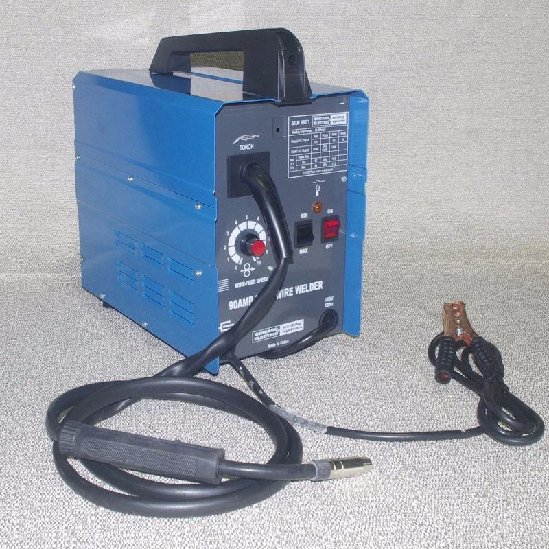 NEW* EASY TO USE COMPACT BLUE VIPER MIG 100 WIRE WELDER | Power ...