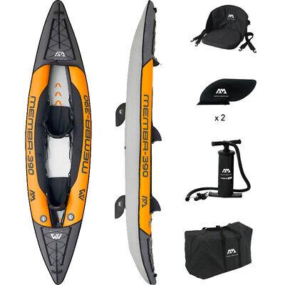Aqua Marina Memba 390 - Professional 2 person Inflatable Canoe/Kayak