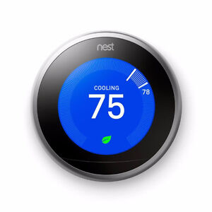 Nest Thermostat - 3rd Generation (As New)