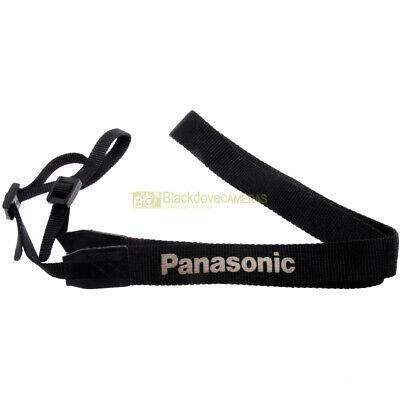 Panasonic tracolla originale per fotocamere. Genuine strap. Cinghia da spalla.