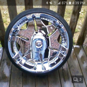 22 inch player rims