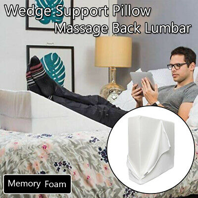 25*24*12 Large Elevating Wedge Bed Pillow Therapeutic Pillow Best Support