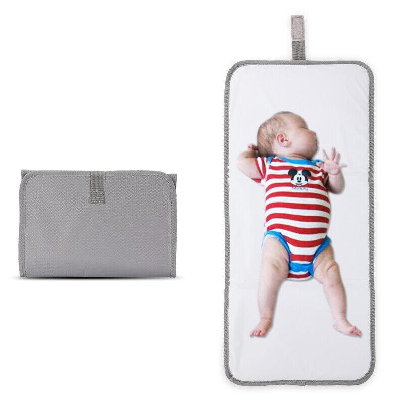 Baby Portable Folding Diaper Travel Changing Pad Waterproof Mat Bag Storage New