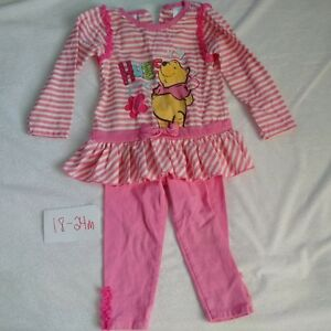 18-24 month Girl's Winnie the Pooh outfit